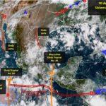 Continúa pronóstico de lluvias en territorio duranguense