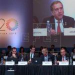 """G20 se centra en el acceso a la economía digital y su """"impacto en el mercado"""""""