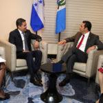 Los presidentes de Honduras y Guatemala revisarán avances de unión aduanera