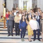 Presentaron al templo a la pequeña Romina Geraldine Morales Alvarado