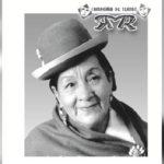 La Paz despide en su teatro a la reconocida actriz boliviana Rosita Ríos