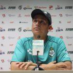 Entrenador del Santos asegura que ante Tijuana su equipo no tiene excusas
