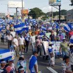 Sandinistas marchan en respaldo a Ortega y exigen justicia por crímenes