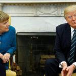 Trump y Merkel abogan por mejorar relaciones comerciales entre EE.UU. y la UE