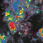 Continúa la probabilidad de lluvia en la mayor parte del estado esta noche