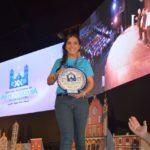 Duranguense es galardonada en el festival nacional de arte y cultura
