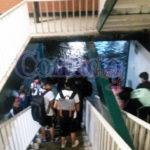 Setenta y uno escuelas afectadas por lluvia de la tarde de ayer