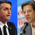 Bolsonaro y Haddad se distancian como favoritos para las elecciones en Brasil
