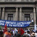Campesinos y organizaciones se movilizarán contra presidente guatemalteco