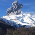 Complejo volcánico del sur de Chile presenta nuevo evento explosivo