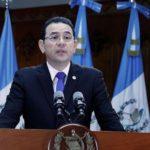 Frente anticorrupción dice que Morales tiene conflicto de interés con Cicig