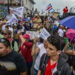 Huelga llega al día 19 a la espera de nueva jornada de diálogo en Costa Rica