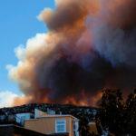 Incendio en Chile deja 100 casas destruidas y 400 damnificados