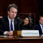 Kavanaugh y su acusadora mantienen versión en medio de lágrimas y reproches