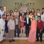 Visitó la pila bautismal Fernanda Guerrero Barrientos