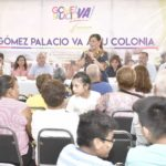 Leticia Herrera escuchó  a habitantes de Fovissste