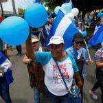 Nueva protesta de globos en las calles contra Daniel Ortega en Nicaragua