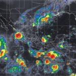 Advierten de tormentas fuertes en norte y centro del país, incluyendo Durango, las próximas 3 horas,