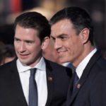 Sánchez niega discrepancias con Kurz sobre el reforzamiento de Frontex