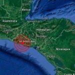 Un sismo de magnitud 3,7 sacude el Pacífico de El Salvador sin dejar víctimas