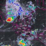 Fuertes lluvias y temperatura máxima de 32 grados prevén en Durango