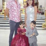 Doble celebración de los hermanitos Victoria Estefanía e Iker Ailan García Alvarado