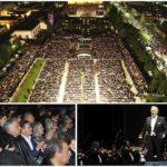 Ofreció Plácido Domingo magistral concierto en Durango