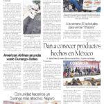 Edición impresa del 4 de octubre del 2018