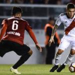 3-1. Los colombianos Quintero y Borré meten a River en las semifinales