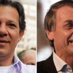 Bolsonaro y Haddad se enfrentan en redes sociales ante falta de debate en TV