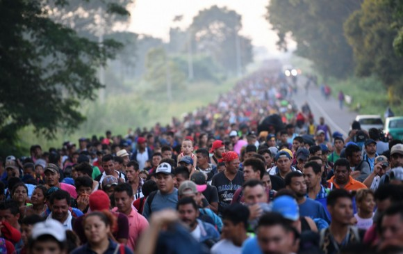Resultado de imagen para migrantes hondureños en mexico