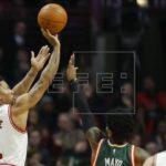 128-125. Rose anota 50 puntos y Timberwolves cortan racha triunfal a Jazz