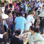 Presidenta del DIF Gómez Palacio  sigue visitando comunidades rurales