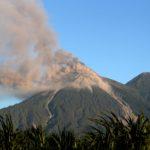 El Volcán de Fuego de Guatemala registra explosiones débiles y moderadas
