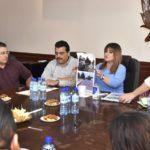 Dirigentes del PRD reconocen la gestión y logros del gobierno de Leticia Herrera