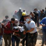 Más de 70 palestinos heridos por disparos israelíes en las protestas en Gaza
