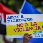 Miles de sandinistas marchan en Managua a favor de Ortega y en demanda de paz