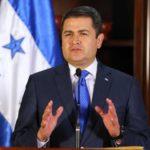 Presidente de Honduras viaja a EE.UU. para reunión sobre seguridad