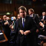 Protestas en el Senado ante la votación sobre el nominado al Supremo de EEUU