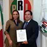 Nombra Ruiz Massieu a Roberto Padilla como delegado estatal del CEN del PRI en Durango