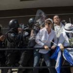 Violenta jornada en Nicaragua con opositores detenidos y represión policial