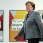 Y Merkel decidió bajarse en la próxima