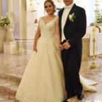 Se unen en matrimonio Arianna Zúñiga Rocha y Emmanuel del Castillo Martínez