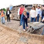 Inicia Lety Herrera construcción de 150cuartos adicionales en colonias y ejidos de GP