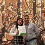 Gana alumna de Canatlán concurso de oratoria de COBAED