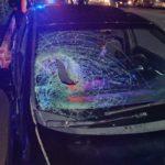 Brutal atropellamieto deja mujer herida en Francisco Villa, por la facultad de Trabajo Social