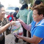 Entrega DIF-GP despensas a comunidades rurales