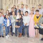 Diego Matías Vargas Camargo fue presentado al templo