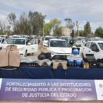 Mejora seguridad en Durango: Aispuro