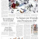 Edición impresa del 29 de noviembre del 2018